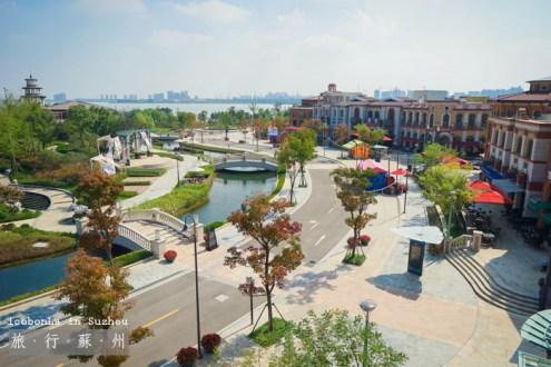 蘇州》購物必去逛到腿軟outlet 奕歐萊精品購物村:亞洲唯一陽澄湖旁新景點