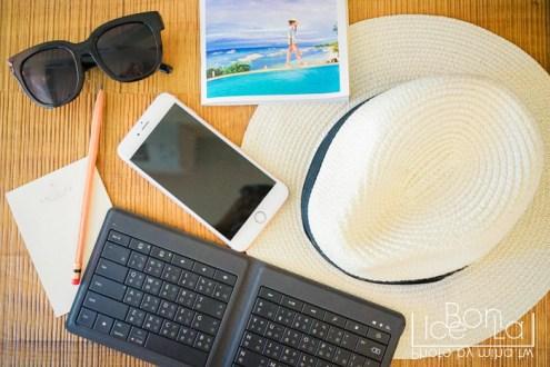 微軟萬用摺疊式鍵盤也太好用了!讓手機平板一秒變筆電 /cama café快閃活動