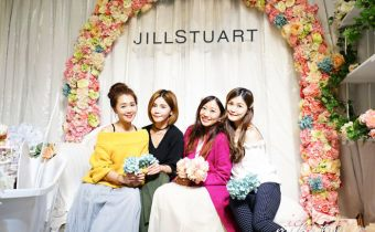 台北》JILL STUART甜蜜午茶樂園 海外首間限定咖啡館 不穿超美來拍照會後悔