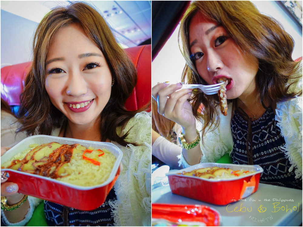 AirAsia宿霧直飛 機上商品跟餐點第一名的廉航 飛機首航灑水儀式紀念 - 冰蹦拉 美食旅行 ICEBONLA