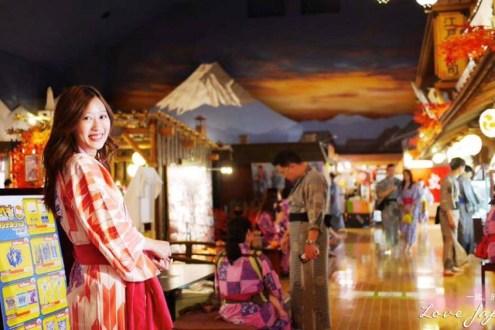 日本》東京台場溫泉住宿 大江戶溫泉物語:在東京也能穿和服泡溫泉/三訪