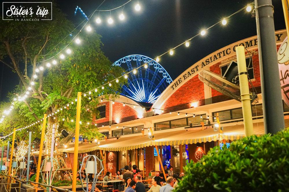 曼谷》碼頭夜市ASIATIQUE 漂亮好逛還有旋轉木馬跟摩天輪 晚上逛不怕熱超好買 - 冰蹦拉 美食旅行|ICEBONLA