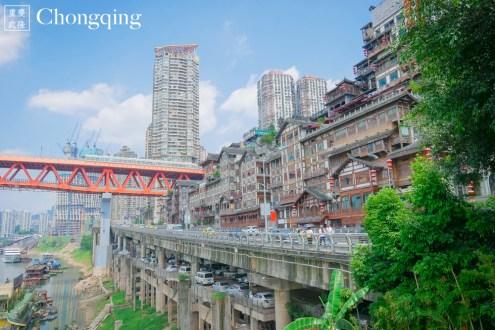重慶》洪崖洞 瓷器口:穿越時空走入老重慶的特色古鎮 像神隱少女湯屋的吊腳樓