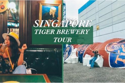 新加坡》虎牌啤酒Tiger Beer工廠導覽 還能在復古酒吧啤酒喝到飽