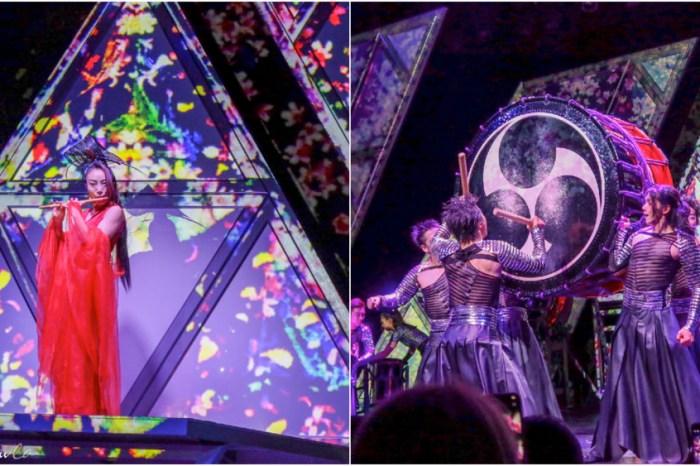 東京》不能錯過的MANGEKYO萬華響太鼓秀  結合科技燈光超驚豔的太鼓表演