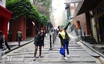 香港》中環地鐵站著名石板街-砵典乍街&一定要買的泰昌蛋撻