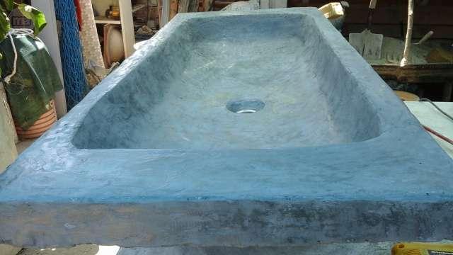 MIL ANUNCIOSCOM  Lavabo pila rustica de cemento 120x60cm