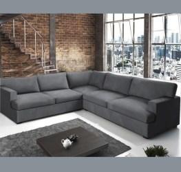 MIL ANUNCIOS COM Sofá modelo Praga color gris oscuro