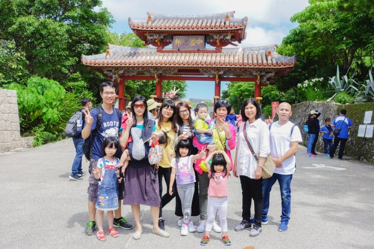 沖繩x旅行│首里城公園(外城)~世界遺產之一。跟著導遊玩沖繩兜兜風(第一天)