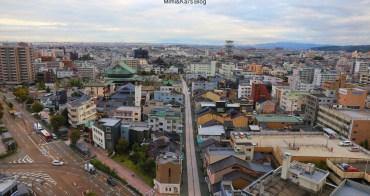 金澤住宿|金澤天空酒店Holiday Inn:臨名鉄丸越百貨、近江町市場,附近都能找到便利商店。