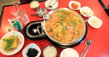 【首爾東大門美食】挪夫部隊鍋:東大門逛街必吃,熱熱辣辣的部隊鍋太美味 有中文服務