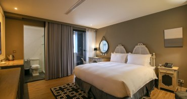【台南】安平留飯店Hotel de L'eau:法式好質感,停車方便周邊美食豐富
