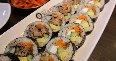 【首爾弘大美食】查爾斯炭火紫菜包飯:多種口味紫菜飯卷、韓國泡麵,食尚玩家推薦