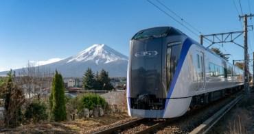 【新宿直達河口湖】富士回遊號特急列車:交通乘車重點整理&怎麼搭乘最划算?