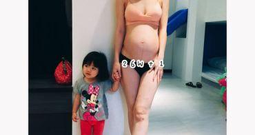 [懷孕日記] 27W~30W.大肚子帶小孩比想像中累啊!!!!