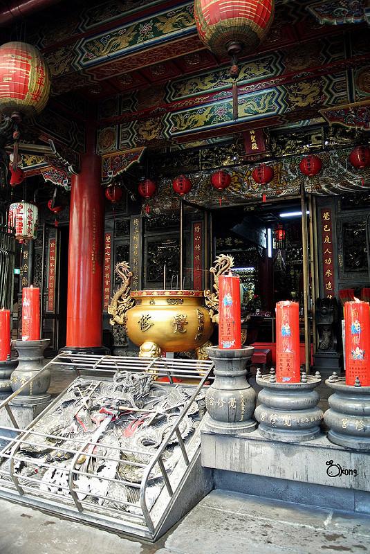 臺北大同景點   覺修宮 登此門得窺大道 由斯戶便識玄關 - 夢想環遊日本