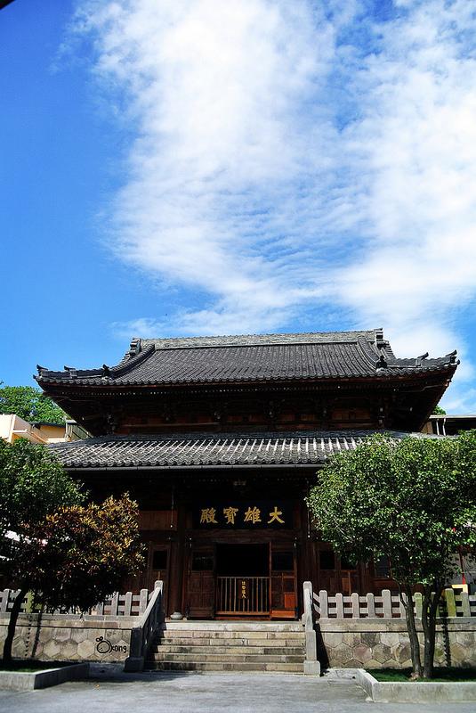 捷運圓山站景點 臨濟護國禪寺 日本江戶時代佛寺之典型建築