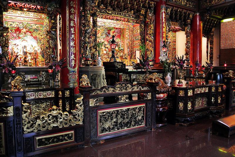 台北中山景點 | 台北市景福宮 原是一座兩坪大的土地公廟
