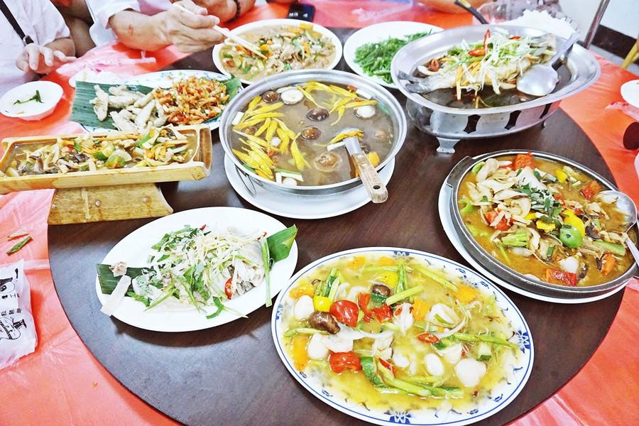 南投魚池美食   日月潭幸こう風味料理餐廳 伊達邵美食 邵族風味餐 經濟合菜 - 瓦妮又在吃