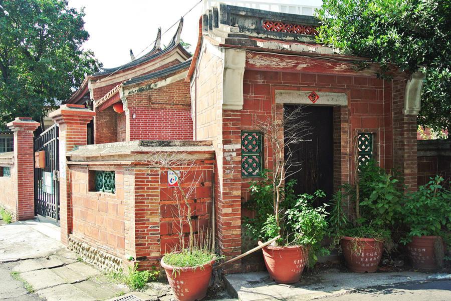 彰化鹿港景點   鹿港老街 節孝祠 台灣唯一獨座主祀貞節烈婦的祠廟