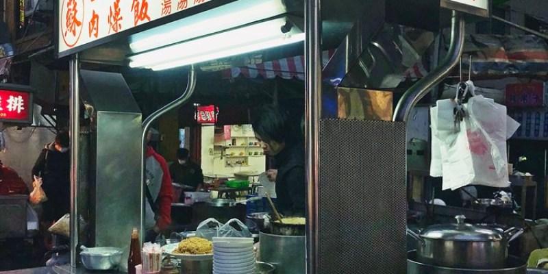 台中中區美食【蘇 台南米糕】肉燥飯/肉骨茶湯.中華路夜市凌晨美食.小吃攤宵夜