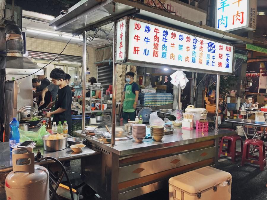台中中區美食 老牌沙茶牛肉 中華路夜市凌晨美食宵夜 特製沙茶果真很特別 中華路一段熱炒小吃 聚餐聚會