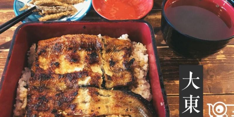 台中西屯美食 大東屋 總店 日本料理うなぎ專門 有名的鰻魚飯餐廳 朝富路日式料理 日本酒