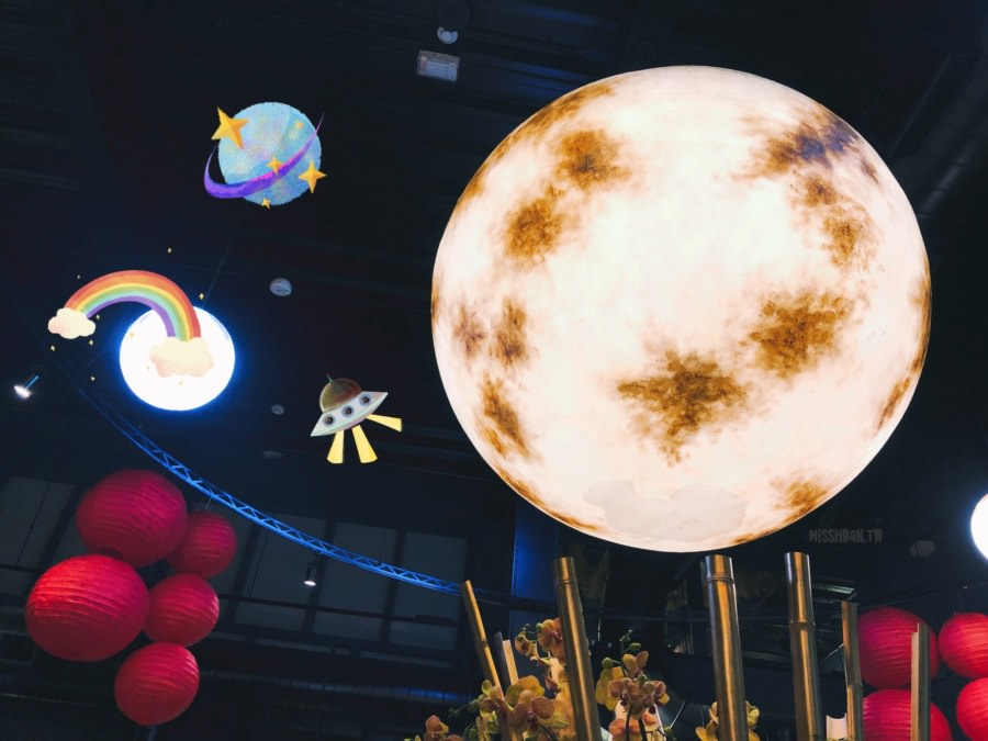 台中南屯美食 悠熹燒肉 YOSHI YAKINIKU 超級大月亮陪你用餐 免費停車場 套餐烤肉 聚餐聚會