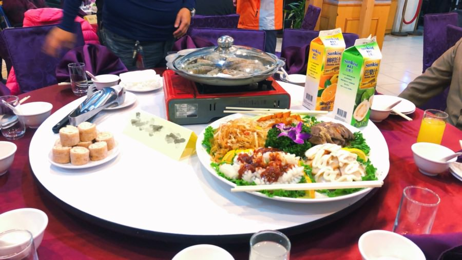 台北中山美食 碧海山莊 平價春節年菜圍爐 喜宴彌月 聚餐聚會 免費停車場 圓山大飯店旁