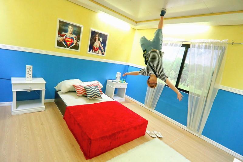 菲律賓蘇比克灣景點 Funtastic Park Subic Bay 打卡拍搞笑照片的好地方 家庭親子超適合來遊玩 顛倒屋 滑草 迷宮 3D立體畫 彩虹階梯 撈金 復仇者聯盟