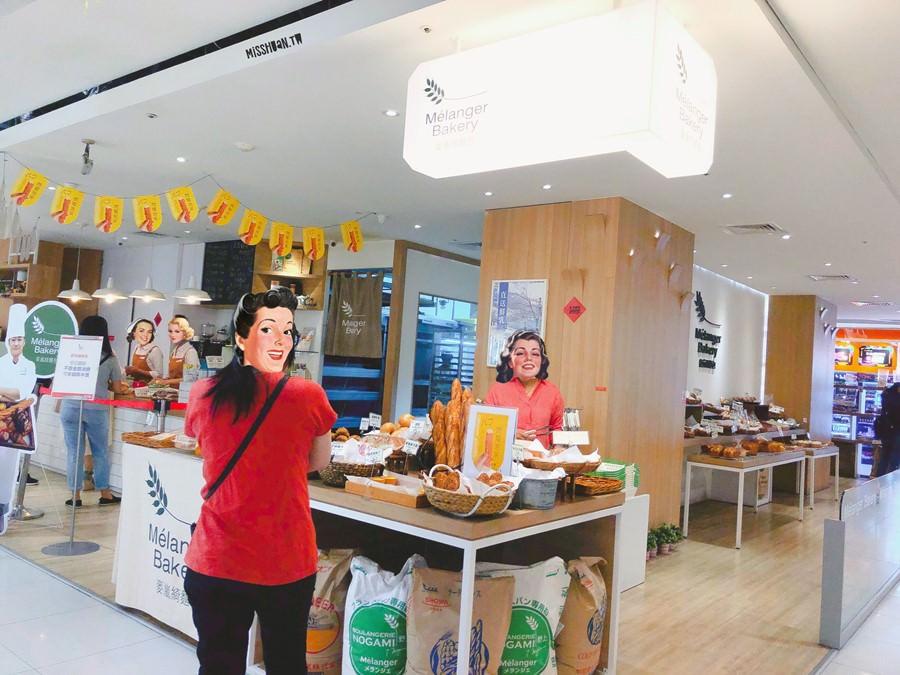 台中西區美食 Mélanger Bakery 麥嵐綺麵包 廣三SOGO店 野上智寬師傅的烘焙品牌 主打歐式+日式麵包