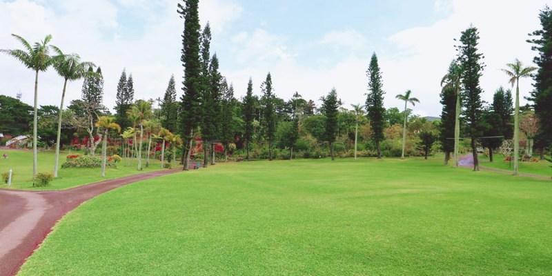 沖繩景點推薦 東南植物樂園 用五感體驗的植物園 零距離餵動物 釣魚 觀光導覽巴士 超寬敞停車場