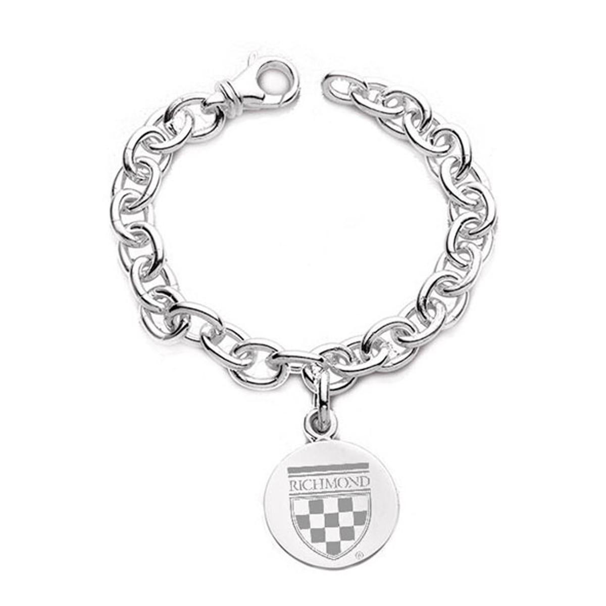 University of Richmond Sterling Silver Charm Bracelet at M