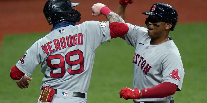 Red Sox 2021 Opening Day roster