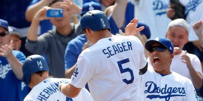lineup de los Dodgers