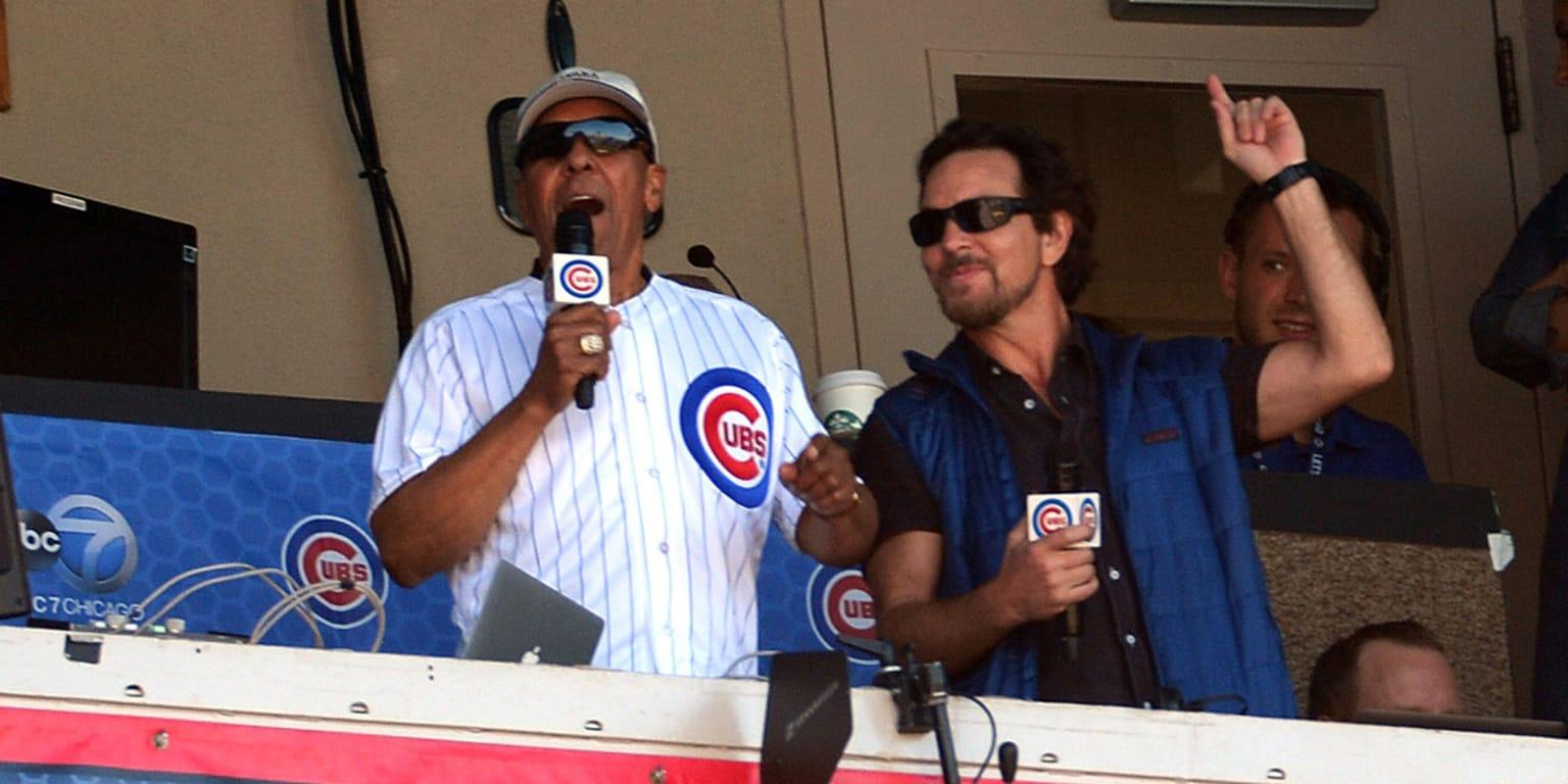 Jose Cardenal Eddie Vedder build friendship  MLBcom