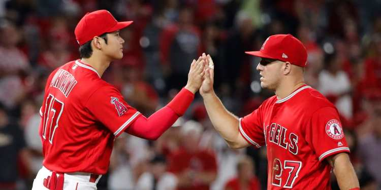 Shohei Ohtani happy about Mike Trout extension   MLB.com