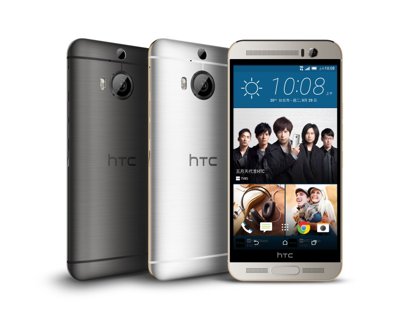 HTC One M9+、Butterfly 3