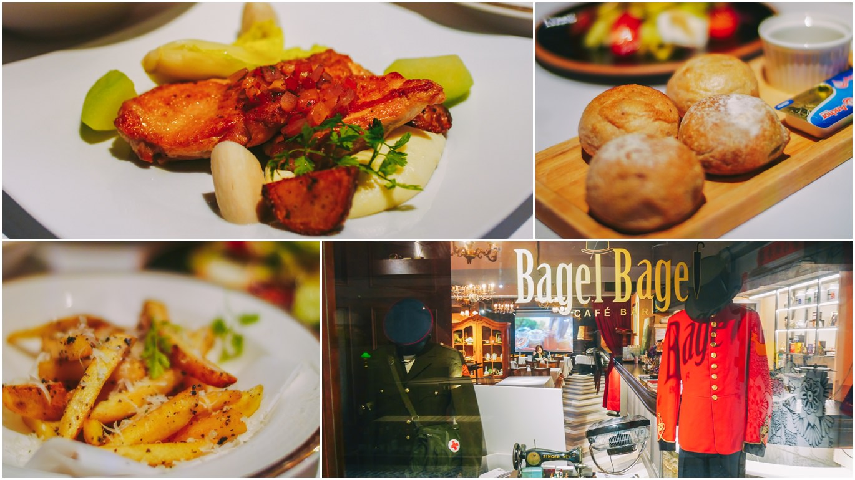 松江南京美食|bagel bagel cafe bar:臺北餐酒館推薦,古典歐式古堡風餐廳/包廂供包場聚餐