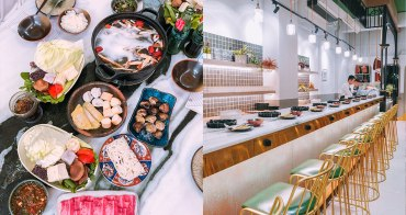 嘉義網美火鍋|大好冷藏熟成肉火鍋專門:IG打卡奶茶火鍋,嘉義觀止燒肉新店,菜單價位分享