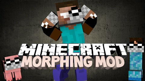 Turn into minecraft mobs, creeper, spider & more! Morphing Mod 1 7 10 1 7 2 1 6 4 1 6 2 Mods For Minecraft