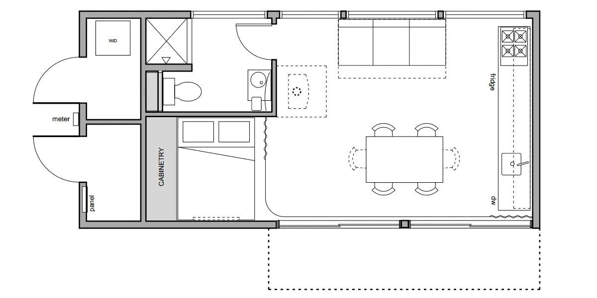 Alchemy Architects weeHouse 1x Prefab Home