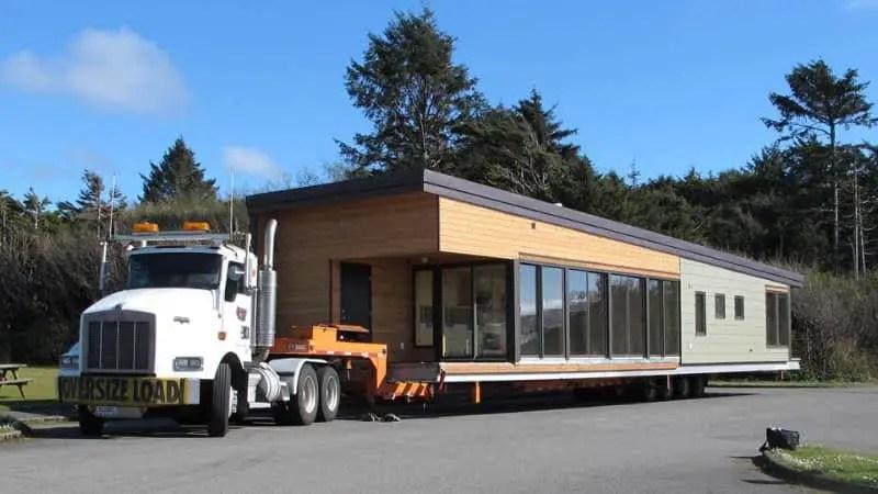 Method Homes SML Series L Truck Transport ModernPrefabs