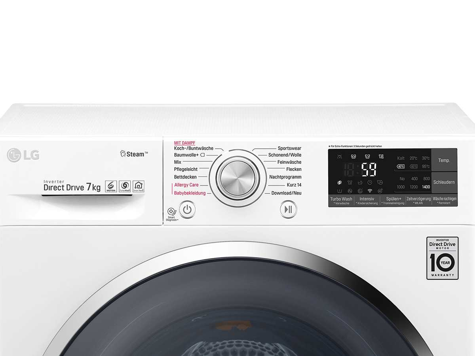 Lg F 14Wm 7Ts2 Waschmaschine Weiß