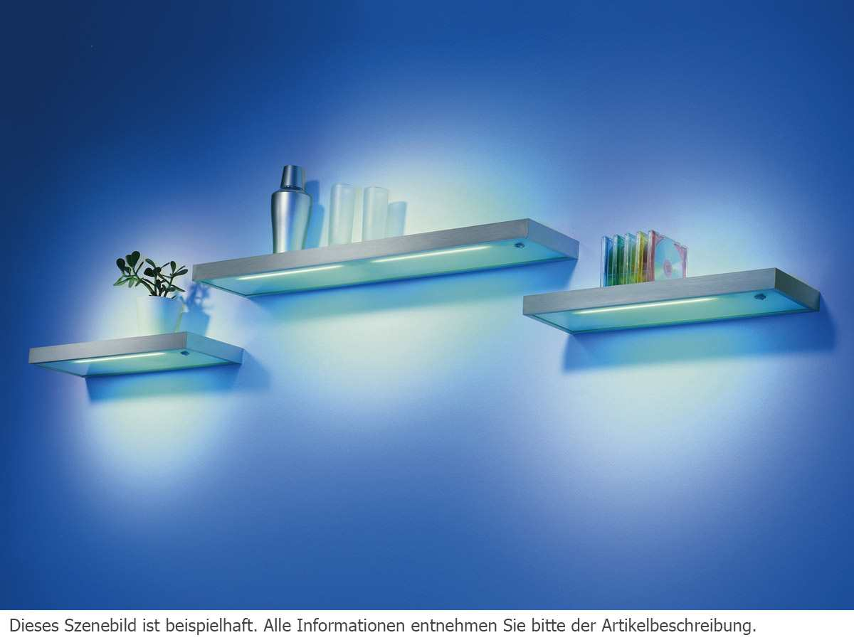 Led Licht Für Regal Thebo E 8000 19897 Led Glasbodenleuchte Aluminium Regal