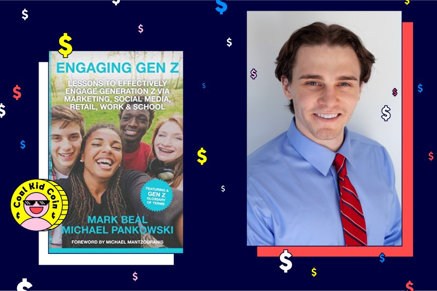 Portrait of Michael Pankowski along with Engaging Gen Z Book Cover