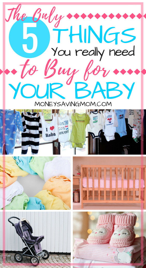 Baby Items List With Pictures : items, pictures, Having, Without, Breaking, Bank:, Essentials, Money, Saving, Mom®