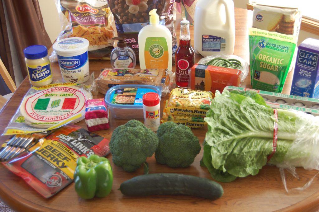 Gretchen's $62 Grocery Shopping Trip and Weekly Menu Plan - Money Saving Mom® : Money Saving Mom®