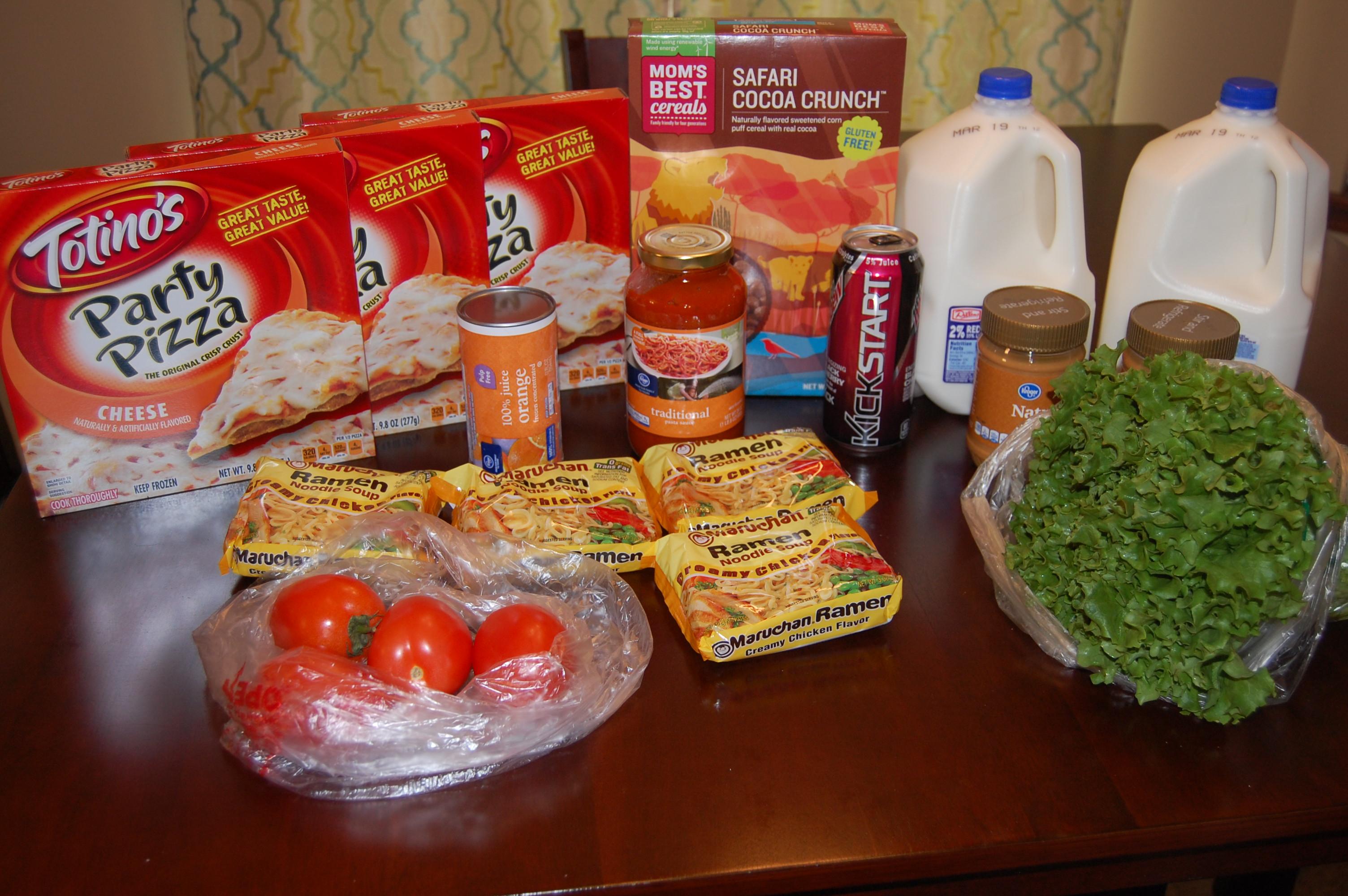 Gretchen's $39 Grocery Shopping Trip and Weekly Menu Plan - Money Saving Mom® : Money Saving Mom®