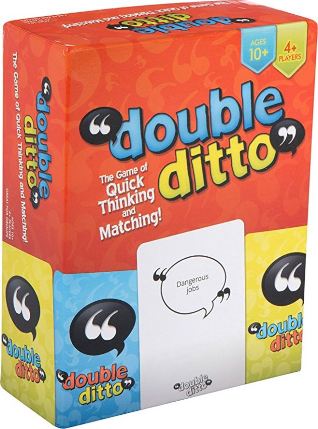 Double Ditto Family Party Board Game only $8.98!